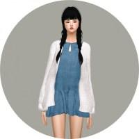 Spring Dress With Cardigan short version at Marigold