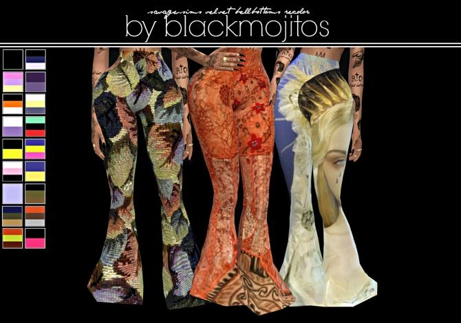 Pants at BlackMojitos  Sims 4 Updates