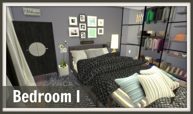 Bedroom I at Dinha Gamer  Sims 4 Updates