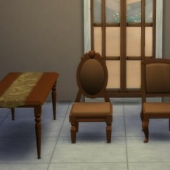Where To Buy Toddler Table And Chairs Reclining Office Desk Chair Movie Hangout Dining Set Recolors By Blueshreveport At Mod The Sims » 4 Updates