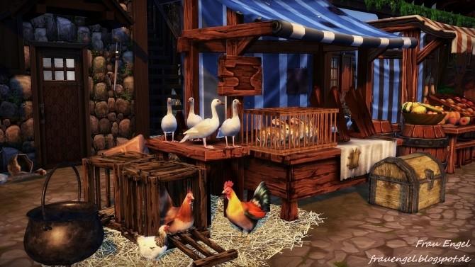 Medieval Bakery at Frau Engel  Sims 4 Updates