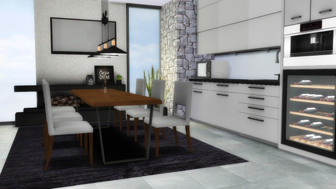 3t4 Forest Hill Diningroom at MXIMS  Sims 4 Updates