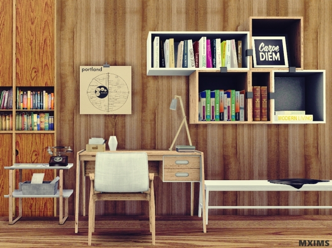 Office 6 Prismo Office Set at MXIMS  Sims 4 Updates