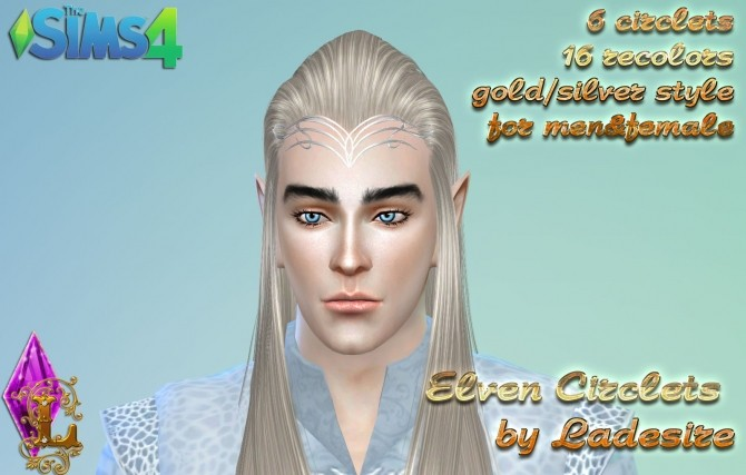 Elven Circlets at Ladesire  Sims 4 Updates