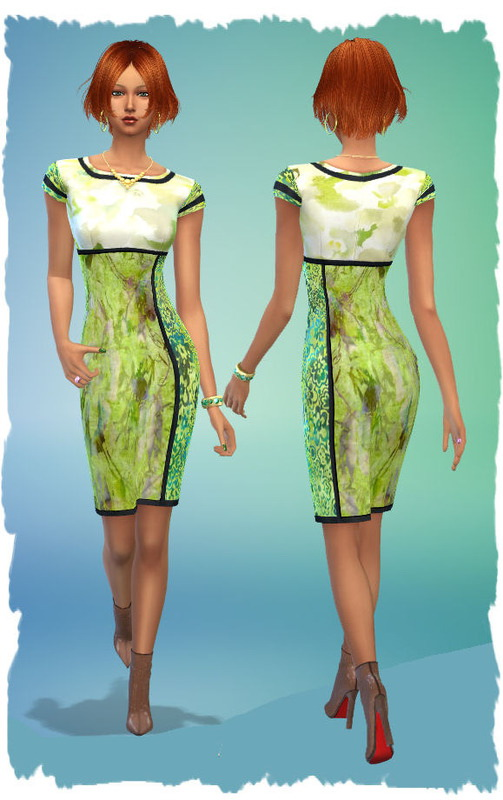 Colorful Dresses By Chalipo At All 4 Sims Sims 4 Updates