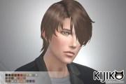 gloomy bangs hair male kijiko