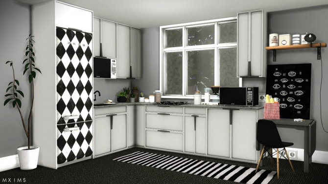 Louise Kitchen Set At MXIMS Sims 4 Updates