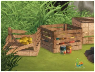 Island Life objects at Sims by Severinka » Sims 4 Updates