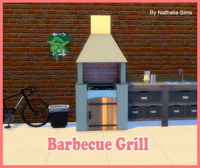 Sims 4 grill downloads  Sims 4 Updates