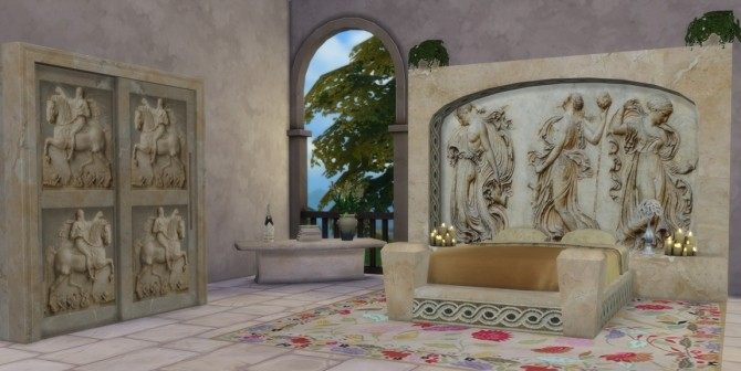The Roman Collection by The Shed at Sims 4 Studio  Sims 4