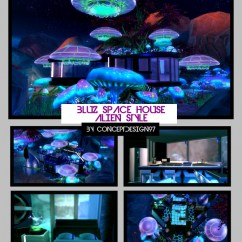 Kitchen And Dining Room Tables Macy's Appliances Sale Bluz Space Alien House At Conceptdesign97 » Sims 4 Updates