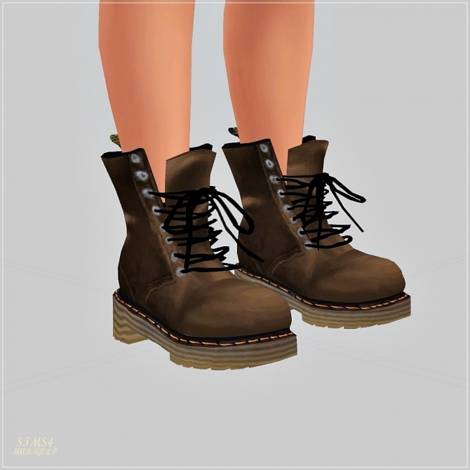 Male Combat Boots at Marigold  Sims 4 Updates