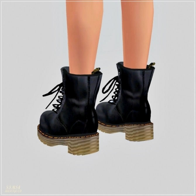 Female Combat Boots at Marigold  Sims 4 Updates