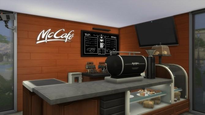 McDonalds Restaurant at RomerJon17 Productions  Sims 4 Updates