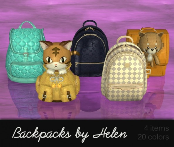 backpack  Sims 4 Updates  best TS4 CC downloads