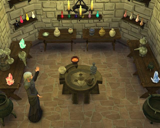 Skyrim Alchemy set at Mara45123  Sims 4 Updates