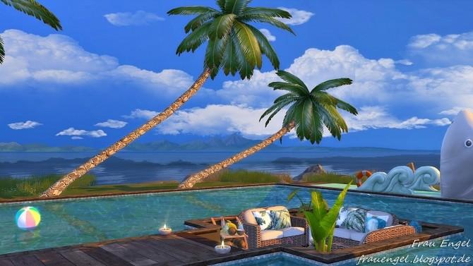 Vacation Paradise house by Julia Engel at Frau Engel  Sims 4 Updates