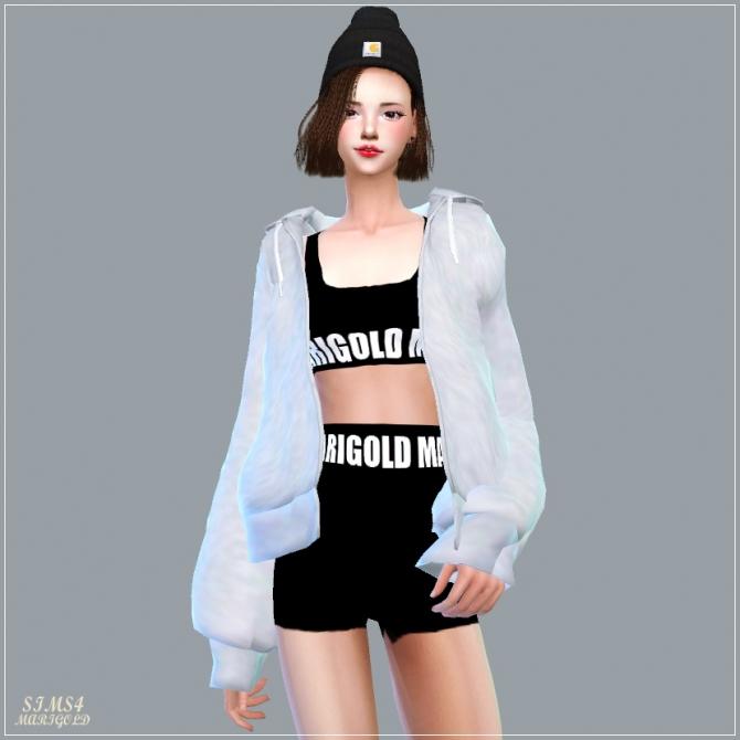 ACC Loosefit Hood Jacket at Marigold  Sims 4 Updates