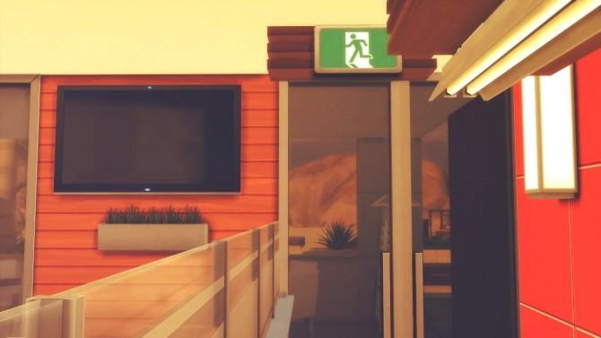 Understandable Exit Sign at RomerJon17 Productions  Sims