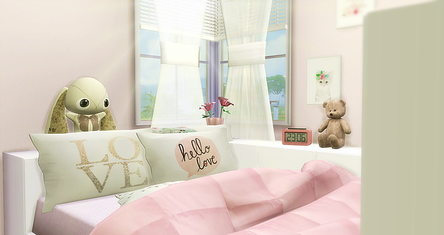 Girly Room at Caeley Sims  Sims 4 Updates