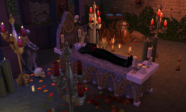 Vampire altar TS3 Conversions at Mara45123  Sims 4 Updates