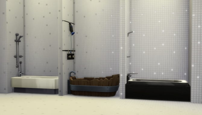MixnMatch Showers  Tubs by Madhox at Mod The Sims