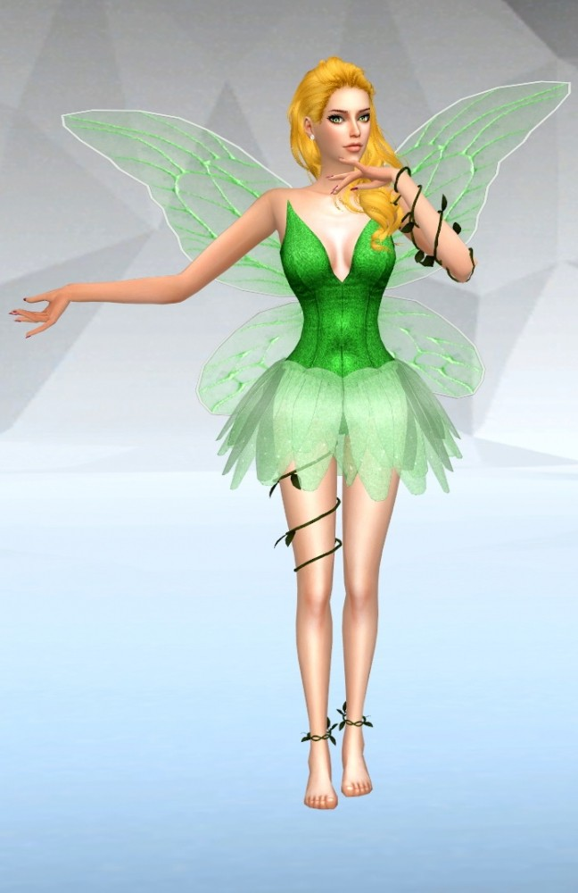 Fairy Dress At SilverMoon Sims Sims 4 Updates