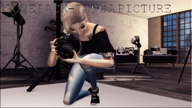 Camera Nikon ACC POSE PACK At Victor Miguel Sims 4 Updates