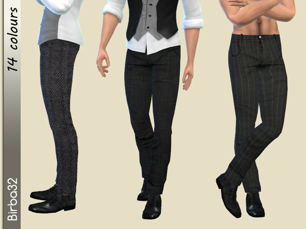 Classic Trousers Man by Birba32 at TSR  Sims 4 Updates