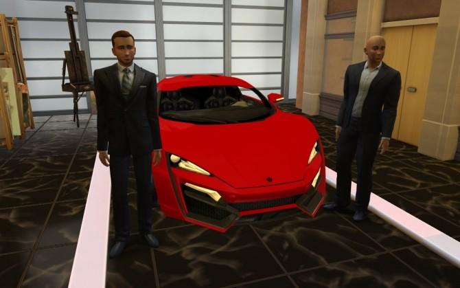 W Motors Lykan HyperSport at LorySims  Sims 4 Updates