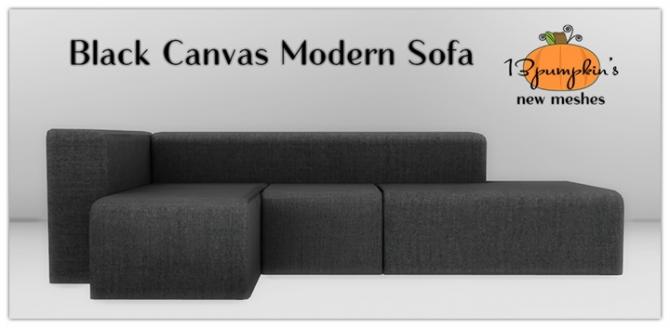 black sofa chaise longue omnia west point conversation stool » sims 4 updates best ts4 cc downloads