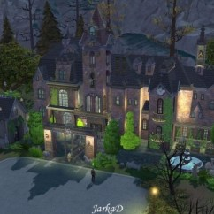 Curtains For My Living Room Arabic Furniture Vampire Mansion At Jarkad Sims 4 Blog » Updates