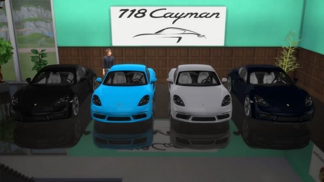 Porsche 718 Cayman S At LorySims Sims 4 Updates