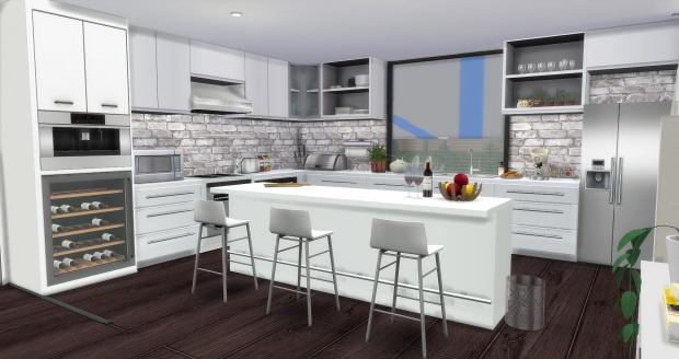 Modern Kitchen at AymiasSims  Sims 4 Updates