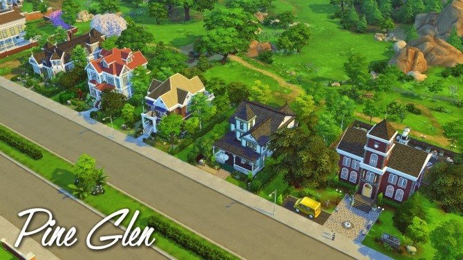 Newlyn Hills CCfree save file at Jenba Sims  Sims 4 Updates