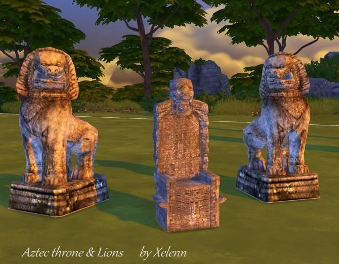 Thai statue conversions at Xelenn  Sims 4 Updates