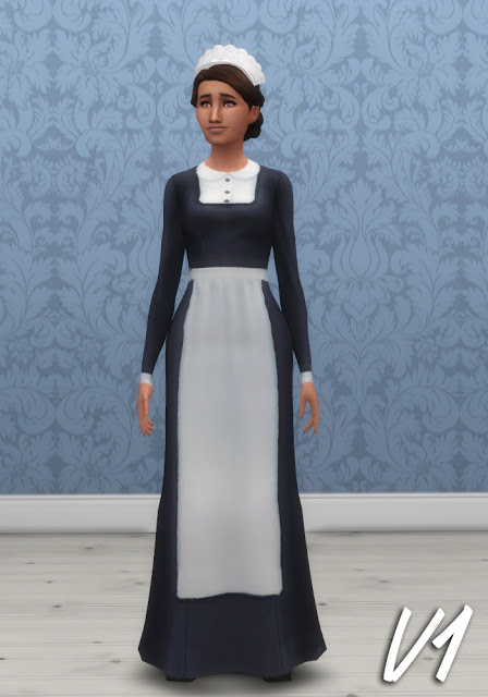 3 Maids Uniforms at Historical Sims Life  Sims 4 Updates