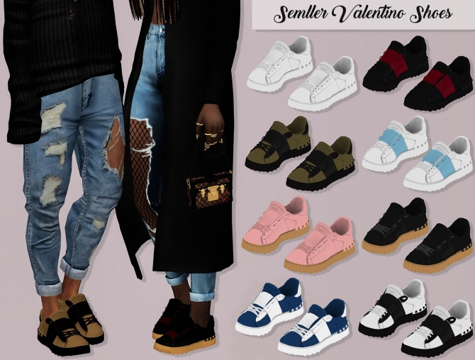 Semller V Shoes at Lumy Sims  Sims 4 Updates