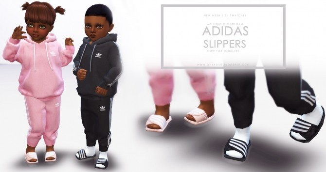 Slippers for Toddlers at Onyx Sims  Sims 4 Updates