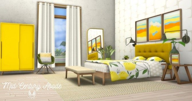Animated Name Wallpaper Maker Mid Century Abode Add On Bedroom Set At Simsational