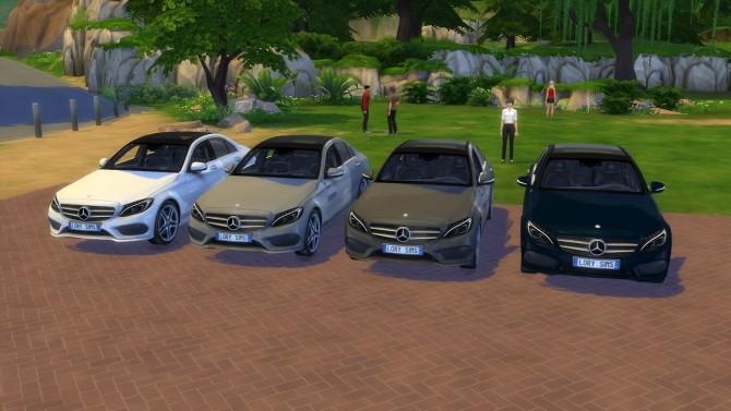 MercedesBenz C Class at LorySims  Sims 4 Updates