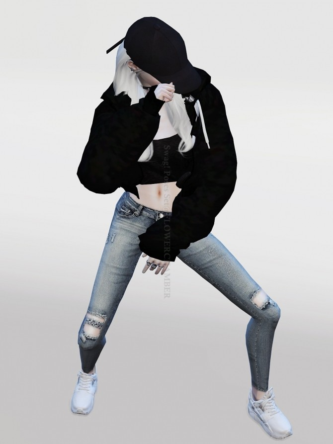 Swag Poses Set at Flower Chamber  Sims 4 Updates
