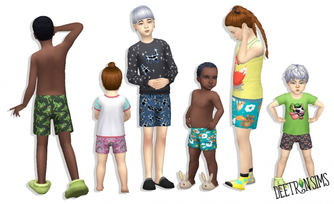 Shorts For Kids And Toddlers At Deetron Sims Sims 4 Updates