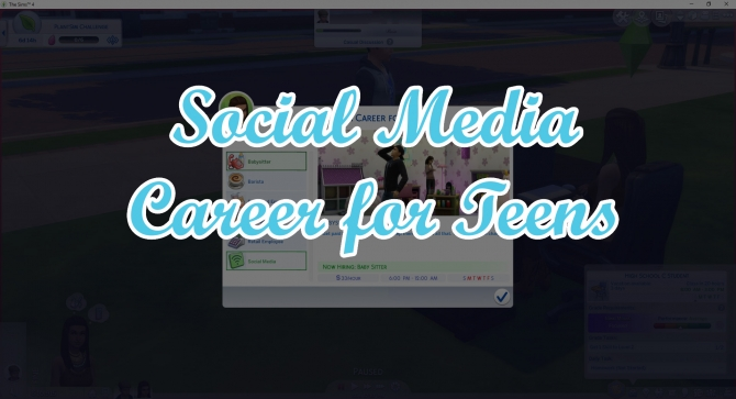 Social Media Career for Teens by TwistedMexi at Mod The