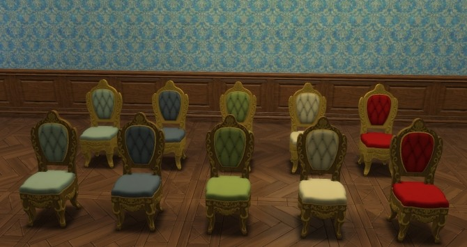 Rococo Objects converted by TheJim07 at Mod The Sims