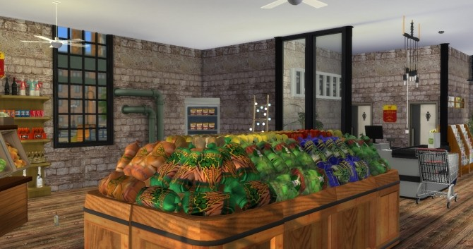 Grocery Store Mod Lot Tutorial At Lily Sims Sims 4