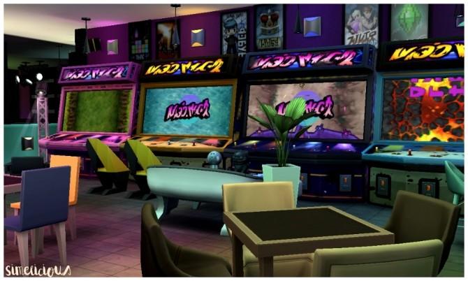 Galaxy Gaming Center at Simelicious  Sims 4 Updates