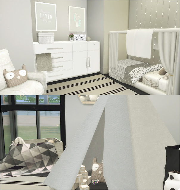 Toddler Room At Liney Sims Sims 4 Updates