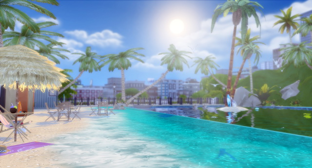 Tropical Beach At Lily Sims Sims 4 Updates