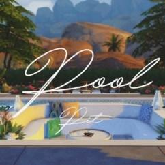 Wood Sofa Set Design 2017 Cane Designs Pool Pit At Pyszny » Sims 4 Updates